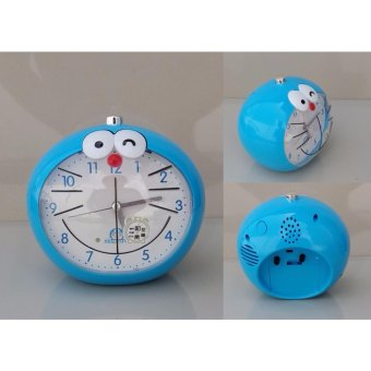 Harga Alarm Clock Doraemon Blue Smile