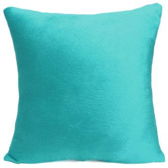 Warna murni yang lembut dan bantal kursi Sofa mewah kasus mobil bantal penutup rumah dekoratif -