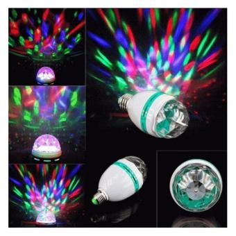 Harga Lampu Disco Putar Rotate Full Colour Warna Warni AUTO ROTATE