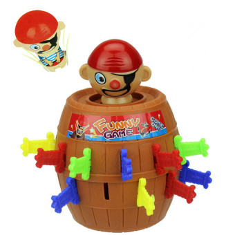 Harga 4ever Kids Christmas Gift Lucky Stab Pop Up Toy Gadget Pirate Barrel Game Toy