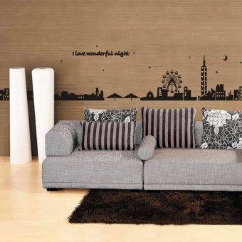 Harga Wall Sticker Stiker Dinding AY925 - Multicolor