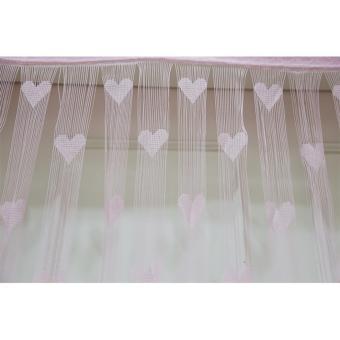 DFW-Tirai Benang Love-Pink