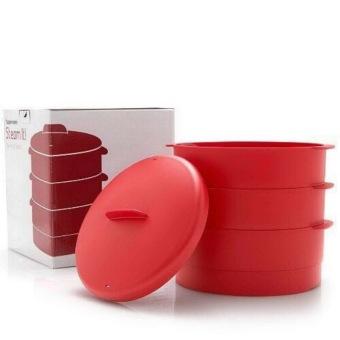 alas setrika portable multifungsi. Source · Harga Tupperware Cherry Steam it 3 tingkat