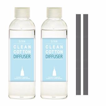 Harga Luxor Aroma Reed Diffuser Clean Cotton 200ml 2 Refill Bottles 10 Reed .