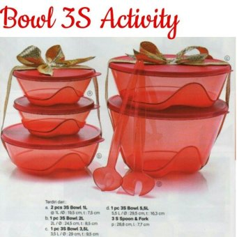 Harga Tupperware Activity 3S