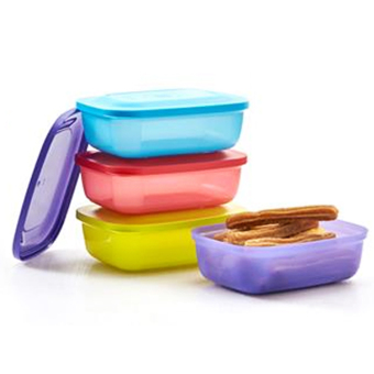 Harga Tupperware Lollita Rectangular 4pcs