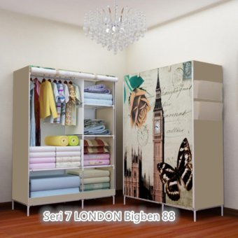 Harga Wardrobe Multifunction 07 London Bigben