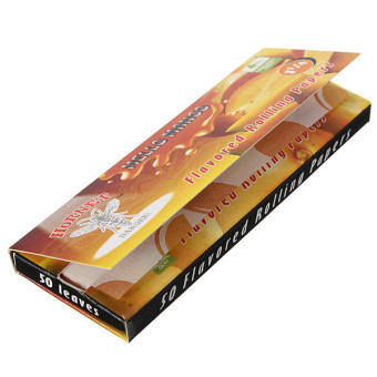 Harga Cigarette Tobacco Rolling Papers 50 Leaves Mango- intl