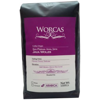 Harga Worcas Coffee - Java Ijen Gourmet Coffee 1000 Grams - Roasted Beans