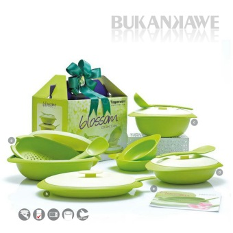 Harga Tupperware Blossom Collection set