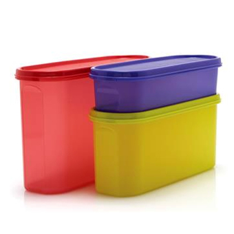 Harga Tupperware Super Oval Set 3pcs