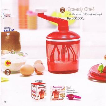 Harga Tupperware Speedy Chef