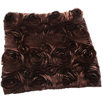 Harga Hanyu Rose Pillow Case Couch Cushion Cover Brown