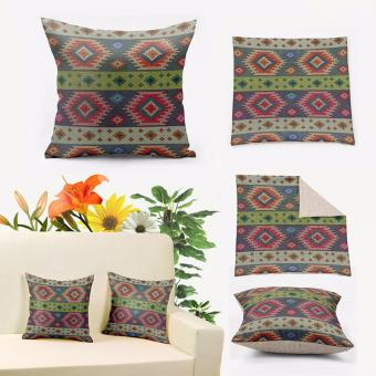 Harga Vintage Kilim Turkish Tribal Morocco Pillow Cover 45x45cm,Euro Decoration Pillows for Couch,