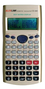 ALFA LINK Store Calculator Desktop 12 Digits CD-991 Gold