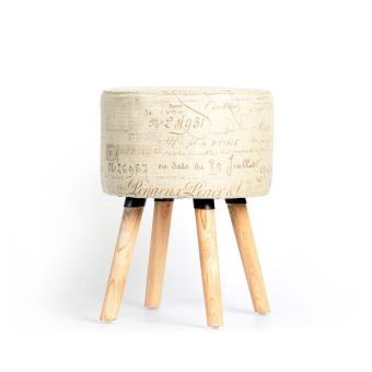 OLC Kursi Stool Juliet Roma - Cream