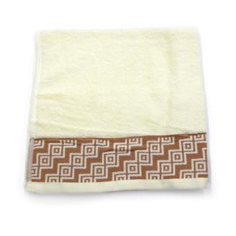 Alldaysmart Handuk Mandi Kecil 1609-419 - Kuning - ukuran 71x34