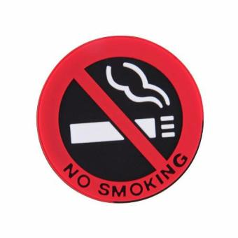 Harga CCC No Smoking Car Decorative Sticker 3 pcs Stiker Mobil Dilarang Merokok
