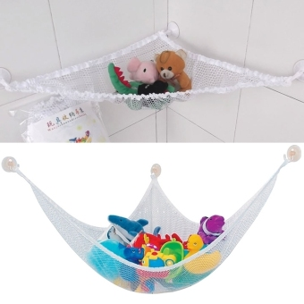 Harga Home Multipurpose Toy Hammock Net Organize Stuffed Animals Toys (Multicolor)