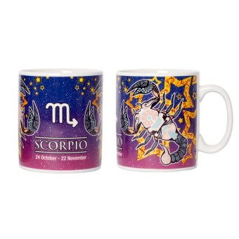 Harga Briliant Glass Mug Zodiak Galakxy GM7121 - Scorpio