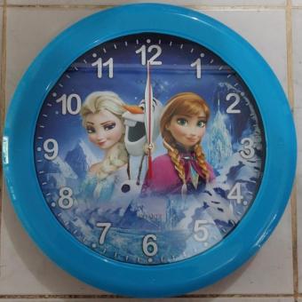 Ogana Jam dinding karakter cartoon Frozen