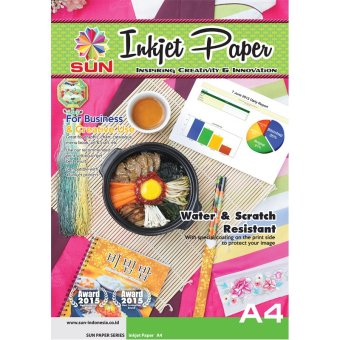 Harga SUN Next Generation Inkjet Paper 235 Gsm Double Side A4