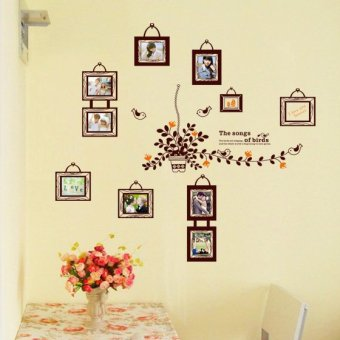 Harga Wall sticker Stiker Dinding AY9224 - Multicolor