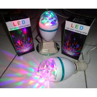 Harga Lampu Led Full Color Rotating Lampu Disco