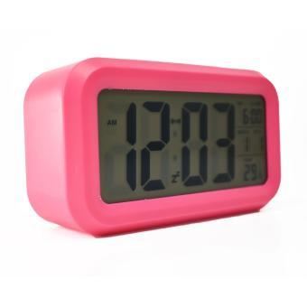 ... Jam Beker - Weker Alarm Digital Display Colorfull With LED - 4 ...