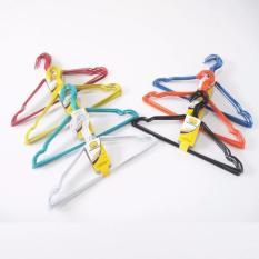 J&J collection-Gantungan Baju / Hanger Kawat Lapis Plastik