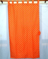 Jaxine Gordyn Single Motif Polkadot Orange .