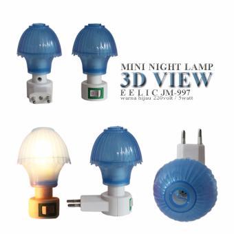 ... Silau Di Mata Dan Hemat Energi Terbaru. Source · EELIC JM-997 Mini Warna Biru Model Jamur Lampu cantik Malam Hari .