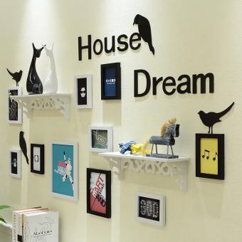 harga Jianyue dinding kombinasi dinding kamar tidur lukisan lukisan dinding foto Lazada.co.id
