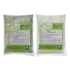 Jirifarm Hidroponik Ab Mix 1L Konsentrat (Bubuk) Pupuk-Nutrisi Hidroponik Sayuran Daun