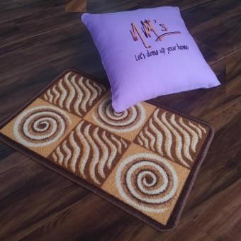 Tren-D-rugs - Keset Kaki Gel Printed 40 cm x 60 cm -