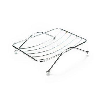 Kamar Mandi Fungsional Baru Stainless Steel Kotak Sabun NampanKotak Sabun Dudukan Square - 2