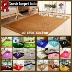 karpet bulu rasfur uk 150x180x3cm