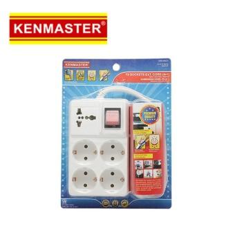 Kenmaster F9 Stop Kontak Kabel 4 + 1 Lobang