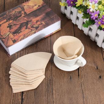 Kertas Filter kopi untuk 101 kopi tangan-menuangkan secangkir kopi Drip penyaring kopi 40 buah