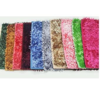 Keset Cendol Dof Mocca 40 X 60 Cm Karpet Bulu Doormat Chenille Cream Source · Keset Cendol Kilap Glossy Microfiber Chenille 40 x 60