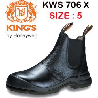 KING'S KWS 706 X Size 5 Sepatu Kerja Safety ASLI KINGS