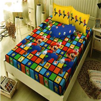 Kintakun Dluxe Sprei King Motif Super Mario 180x200 cm