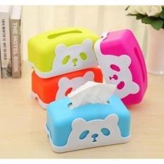 Kotak Tisu Tempat Tisu Karakter Panda.Box Tissue Karakter Panda