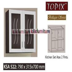 KSA 512 Topix Kitchen Set Atas 2 Pintu BellagioIDR534000. Rp 534.000