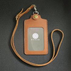 Kulid ID Card Holder Kulit Asli - Coklat