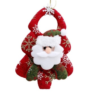 LALANG Decoration Christmas Ornaments Pendant Hanging Santa Claus - intl