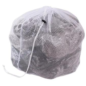 LALANG Net Washing Bag Laundry Saver Lingerie Mesh Thicked Net Bag 66x45cm White