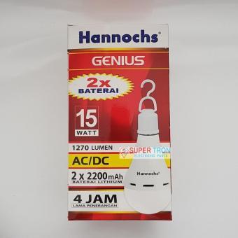 Lampu LED AC/DC Hannochs Genius 15 Watt