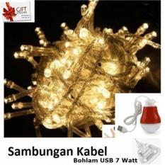 10 Meter + Colokan Sambungan. Source · Lampu LED Dekorasi Dan Hias .