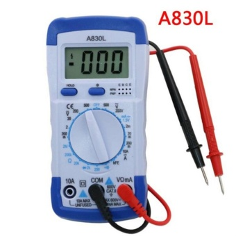 Lcd Digital Multimeter Voltage Diode Freguency Multitester TestCurrent A830l - intl